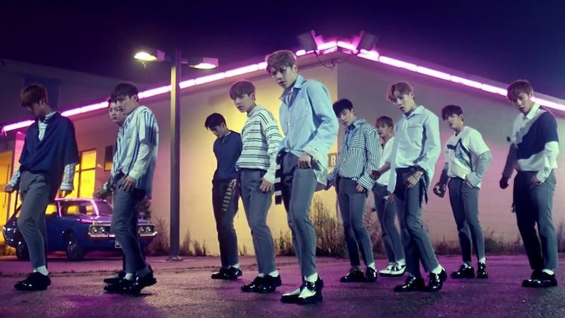 """Wanna One hace un """"Energetic"""" debut con el MV de su primer tema promocional"""
