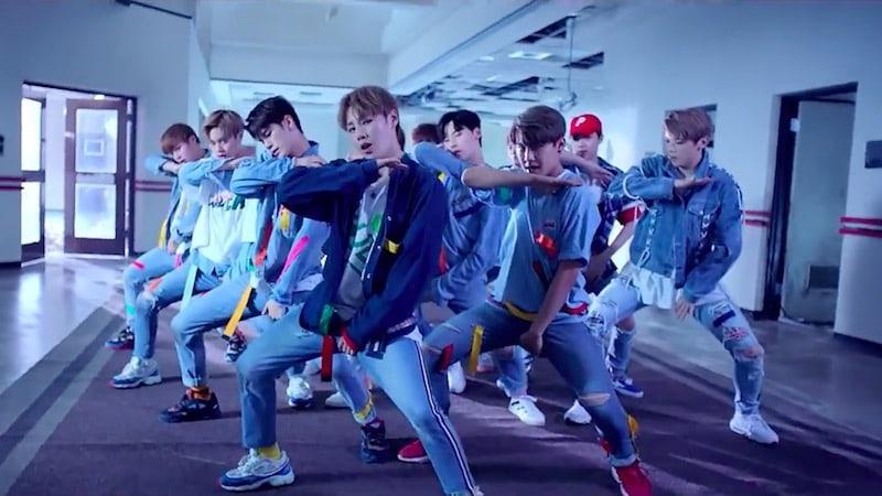 """""""Energetic"""" de Wanna One se convierte en el video musical debut de un grupo K-Pop con mayor cantidad de vistas en 24 horas"""