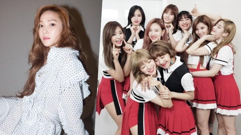 Jessica comparte que es fan de TWICE y muestra su afecto por el grupo