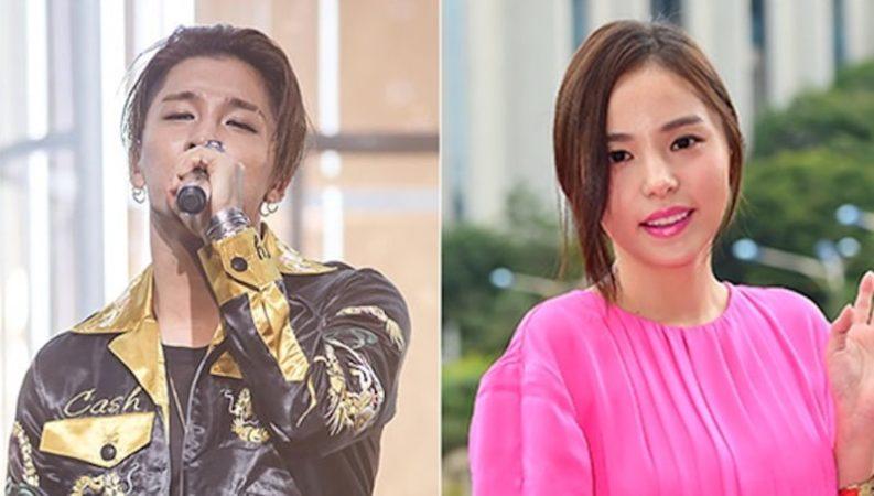 Taeyang y Min Hyo Rin niegan rumores de ruptura