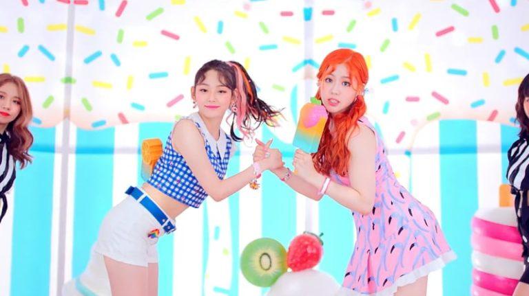 """gugudan5959 hace su debut como unidad con el veraniego MV para """"Ice Chu"""""""