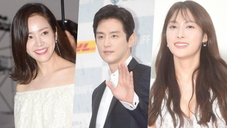 Actores coreanos brillan en la alfombra roja del festival 13th JIMFF a pesar de la lluvia