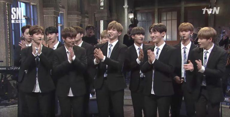 """Wanna One consigue los índices de audiencia más altos de """"SNL Korea 9"""" a pesar de los modales poco apropiados de los espectadores en vivo"""