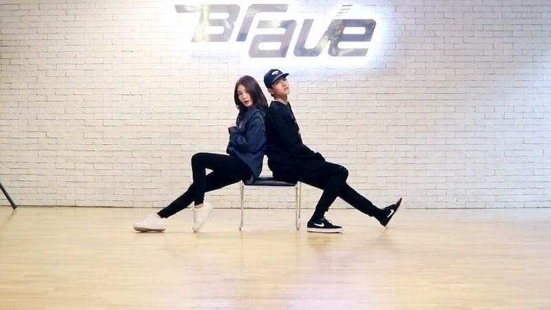 Samuel Kim y Kim Chungha muestran sus elegantes movimientos en un vídeo de práctica de baile
