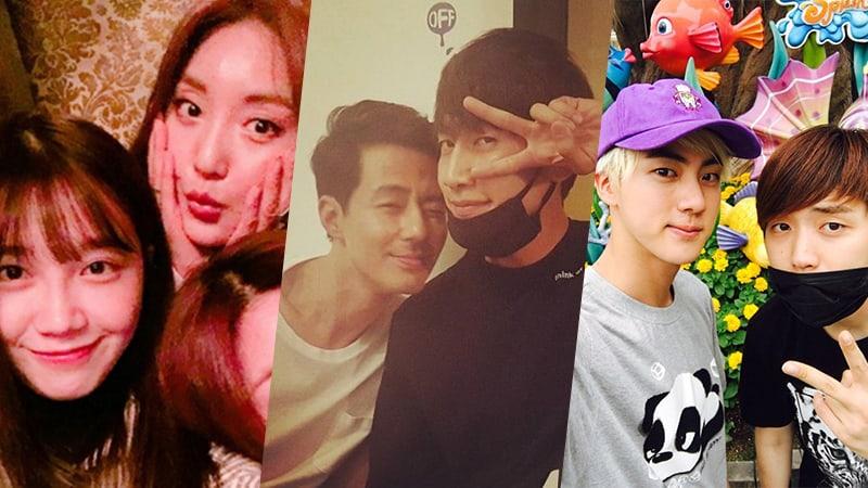 7 círculos épicos de celebridades coreanas que mantienen una gran amistad