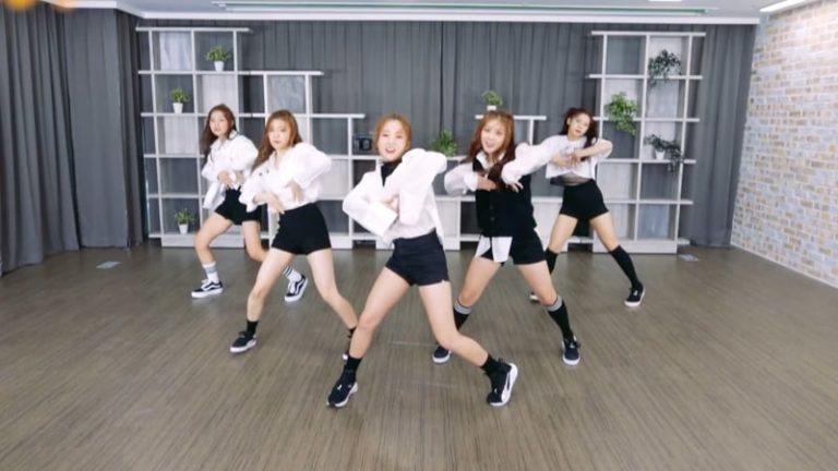 """El nuevo grupo Apple.B comparte una increíble cover de """"Blood Sweat & Tears"""" de BTS"""