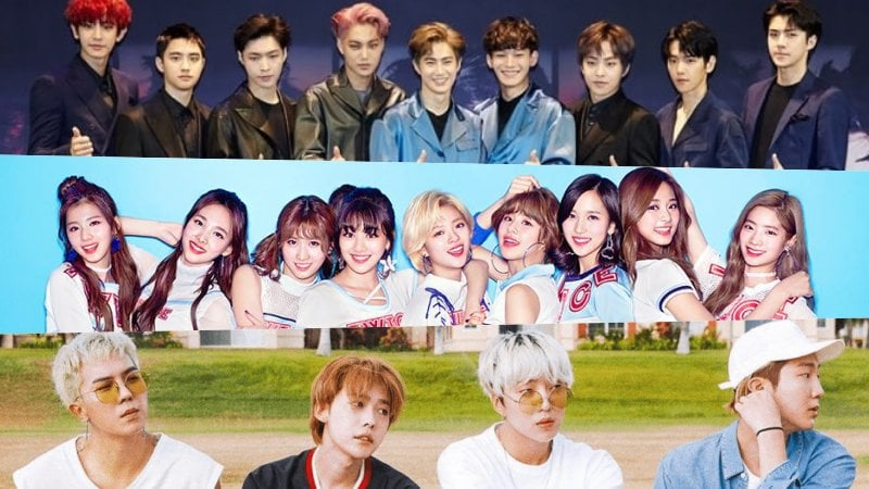 """Idol Star Athletics Championships"" está trabajando para reclutar a EXO, TWICE y WINNER"