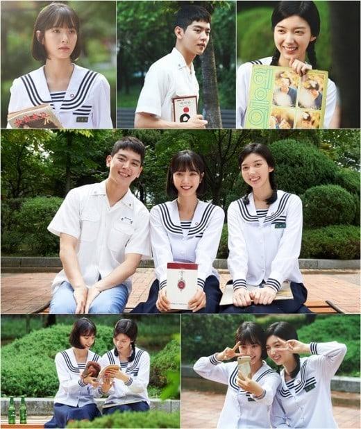 """""""Lingerie Girls' Generation"""" da un adelanto de los actores en uniformes escolares de los 70s"""