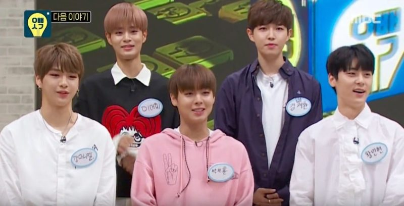 "Wanna One son adorables tontorrones en el avance de ""Oppa Thinking"""