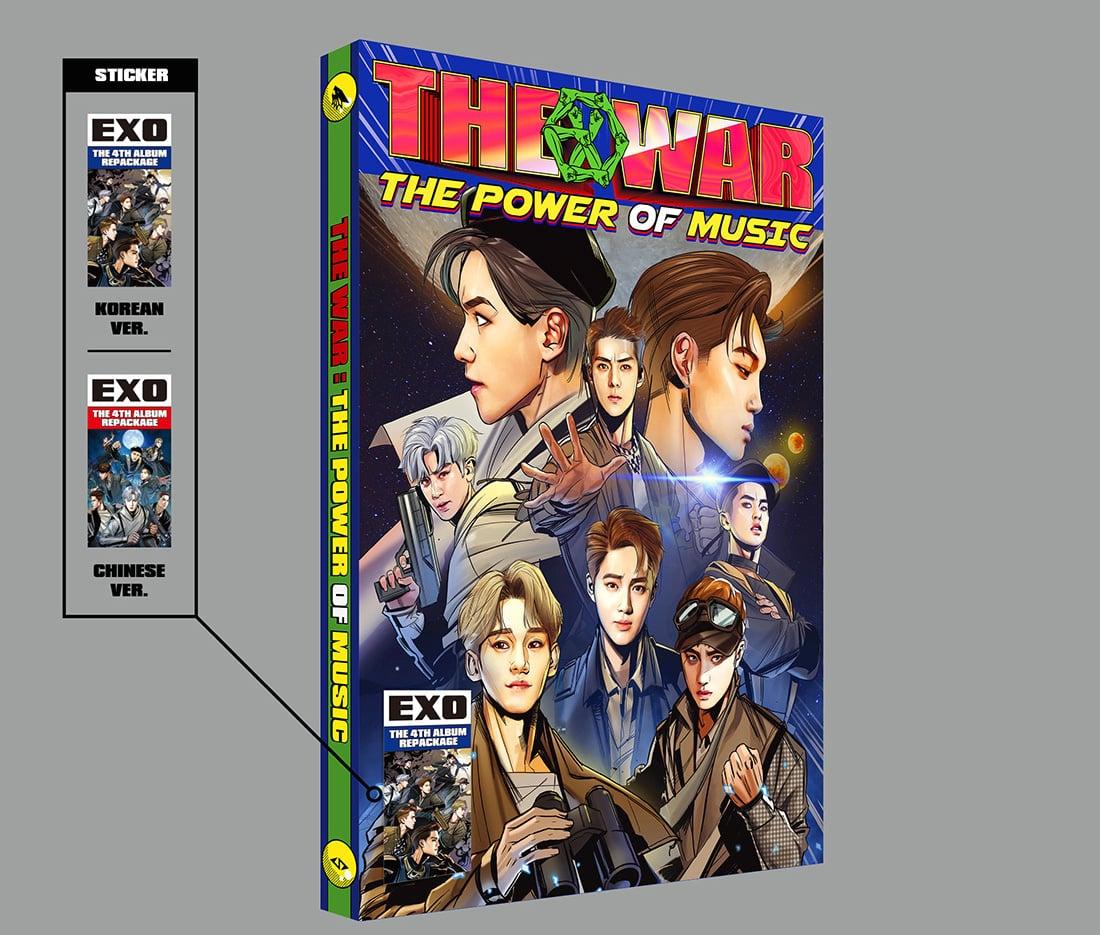EXO revela detalles para su álbum con temática de novela gráfica