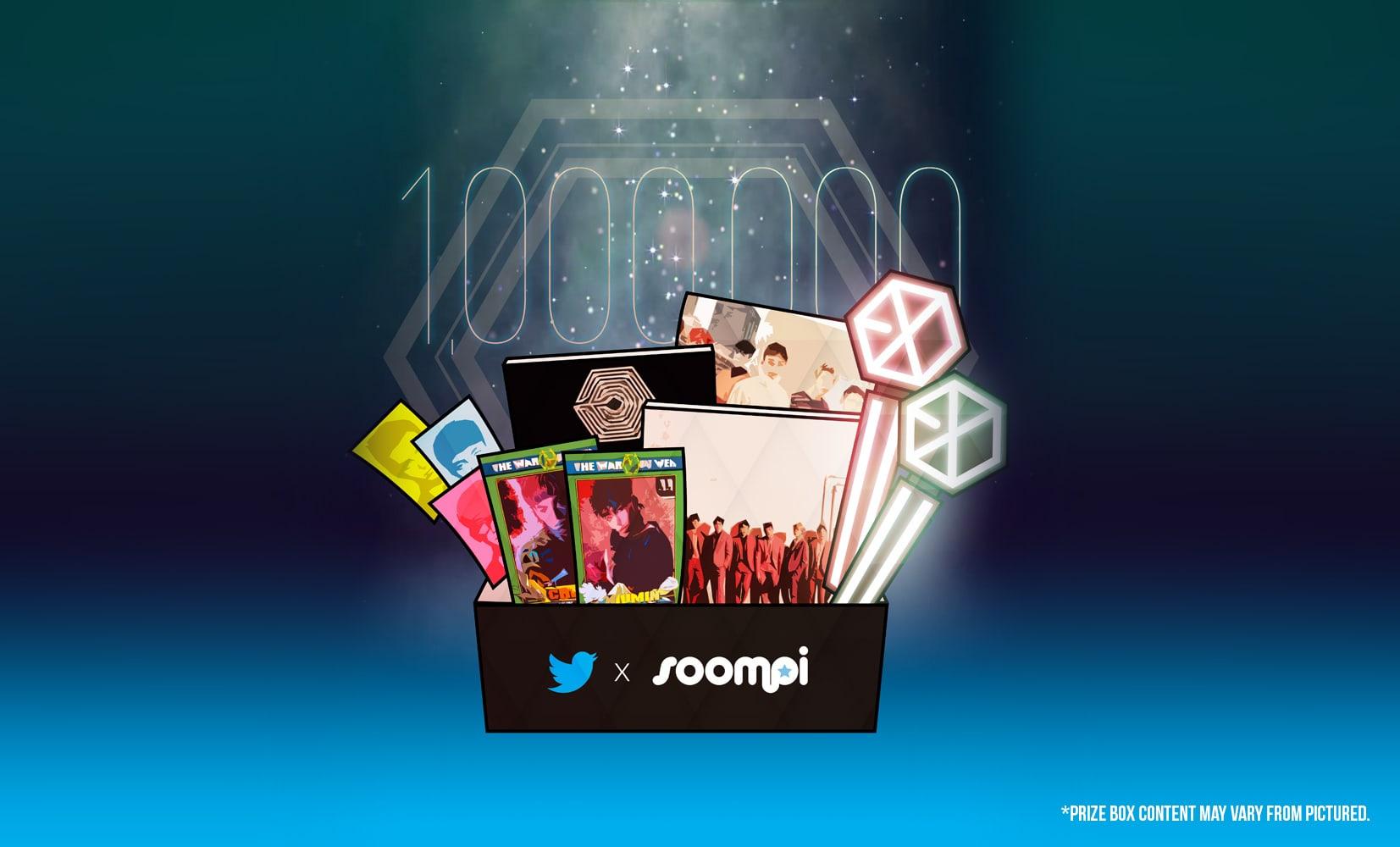 Soompi y Twitter lanzan una competición de fan arts global para celebrar el millón de seguidores de EXO