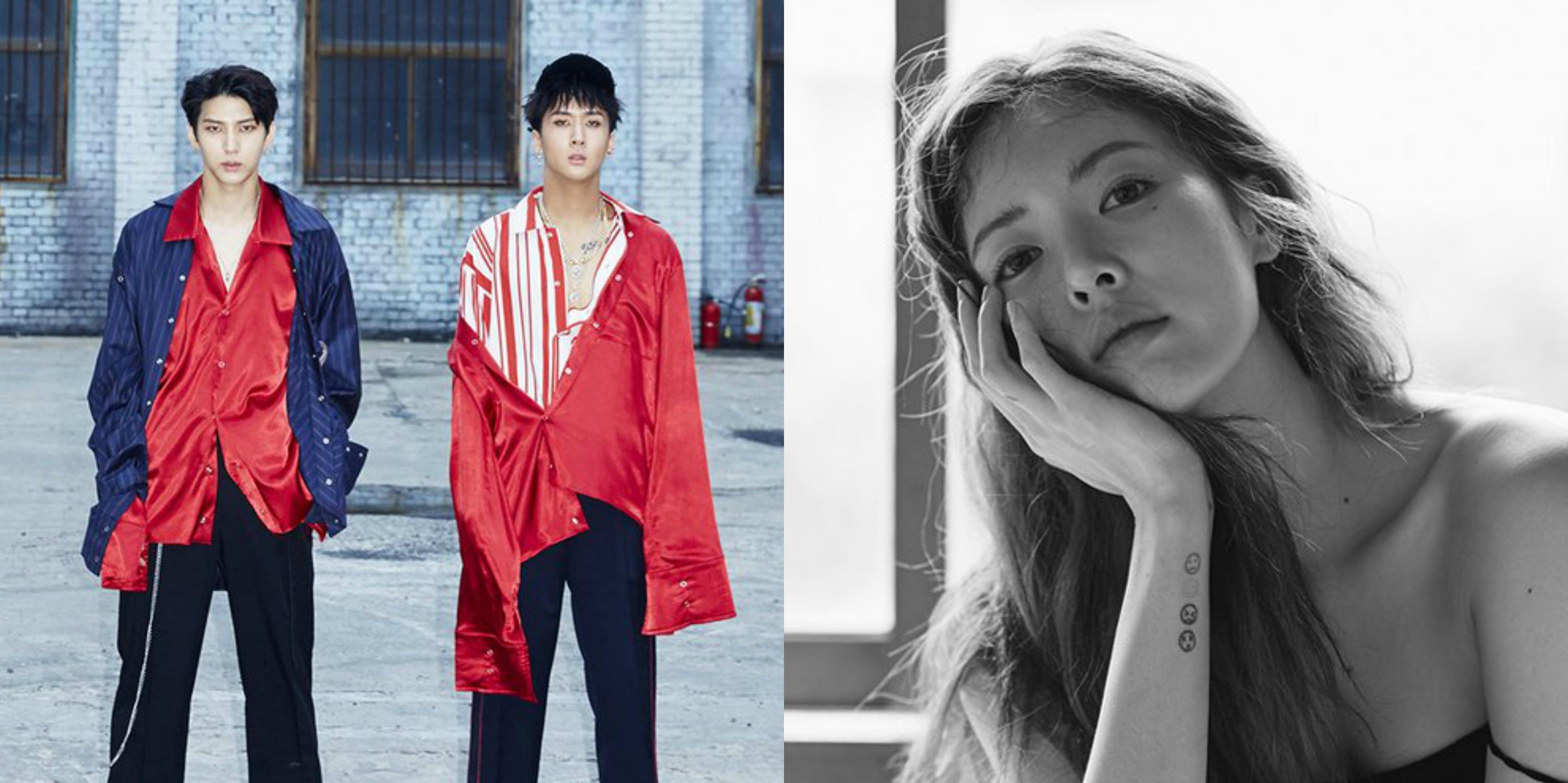 Los nuevos mini álbumes de VIXX LR y HyunA hacen impresionantes debuts en la lista de álbumes mundiales de Billboard