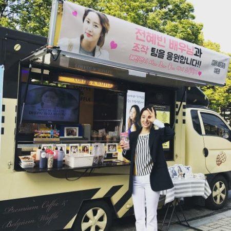 """Jeon Hye Bin recibe en el set de su drama un presente de su co-estrella de """"Another Oh Hae Young"""", Seo Hyun Jin"""