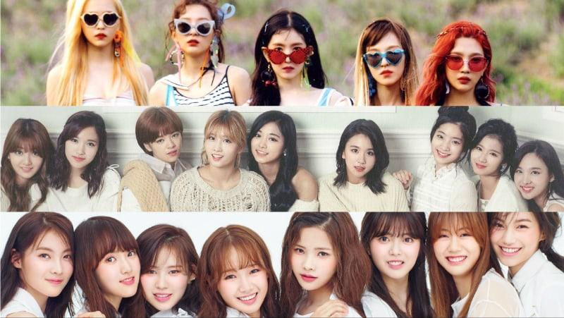 Se revela el ranking de reputación de marca de grupos de chicas para septiembre
