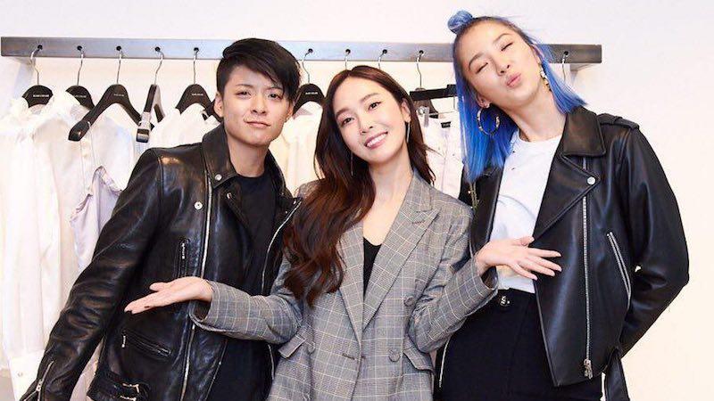 Amber de f(x) y la modelo Irene Kim muestran apoyo a Jessica en evento de BLANC & ECLARE en Nueva York