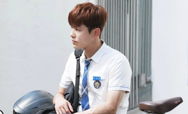 """Kim Jung Hyun cuenta la historia detrás de su baile de """"Boy In Luv"""" de BTS en """"School 2017"""""""