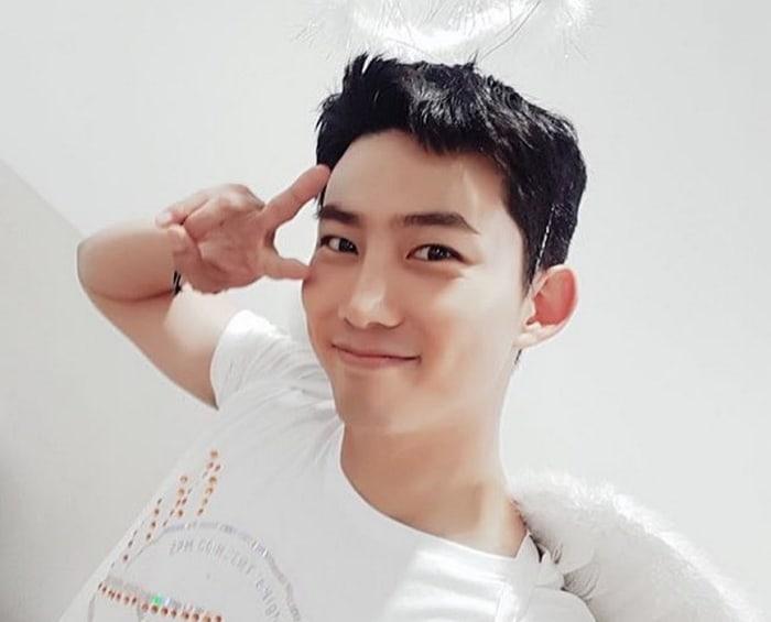 Reveladas fotos de Taecyeon de 2PM en el entrenamiento militar