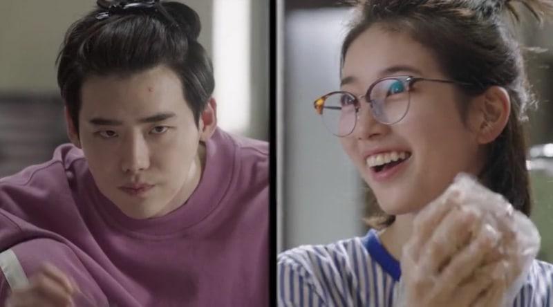 """[Actualizado] Suzy y Lee Jong Suk encienden el romance en nuevo video teaser de """"While You Were Sleeping"""""""