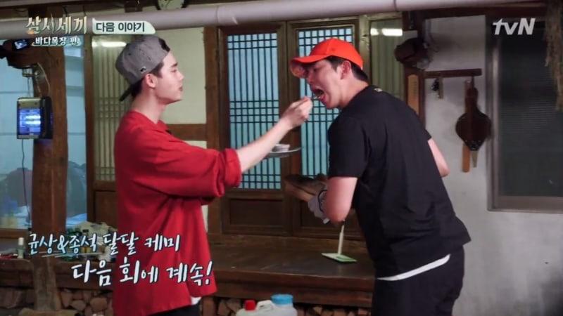 "Lee Jong Suk y Yoon Kyun Sang son inseparables en adelanto de ""Three Meals A Day"""