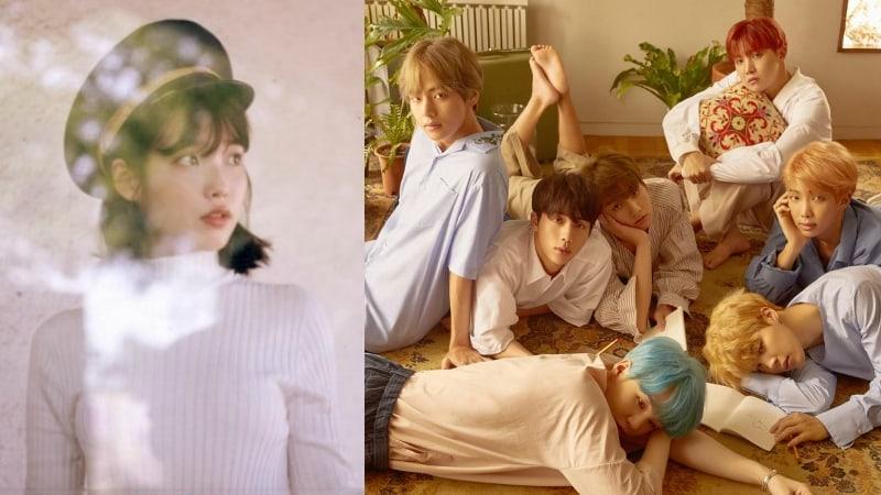 IU y BTS lideran las listas a tiempo real con sus nuevos sencillos