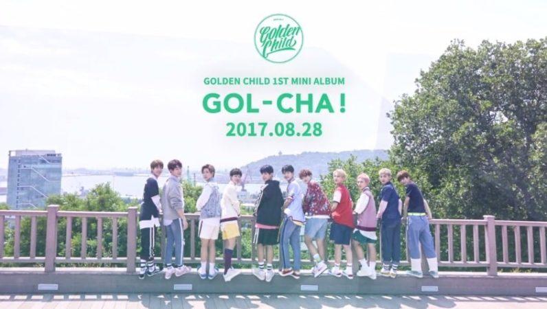 Golden Child encabeza el chart diario japonés de Tower Records