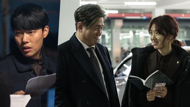 Ryu Jun Yeol y Park Shin Hye muestran una fuerte química con Choi Min Sik en imágenes reveladas de nueva película