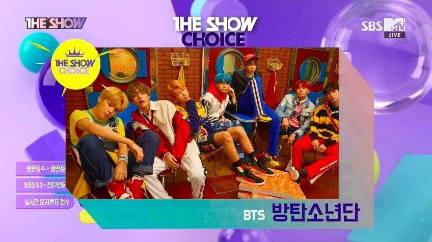 """BTS obtiene primera victoria con """"DNA"""" en """"The Show con una puntuación perfecta – Presentaciones de Lee Gikwang, VICTON y más"""