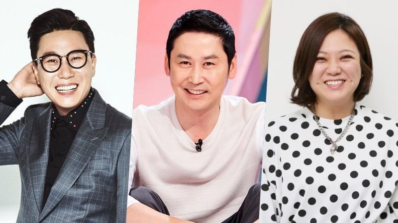 Se revela ranking de marca de reputación de estrellas de programas de variedades para el mes de octubre