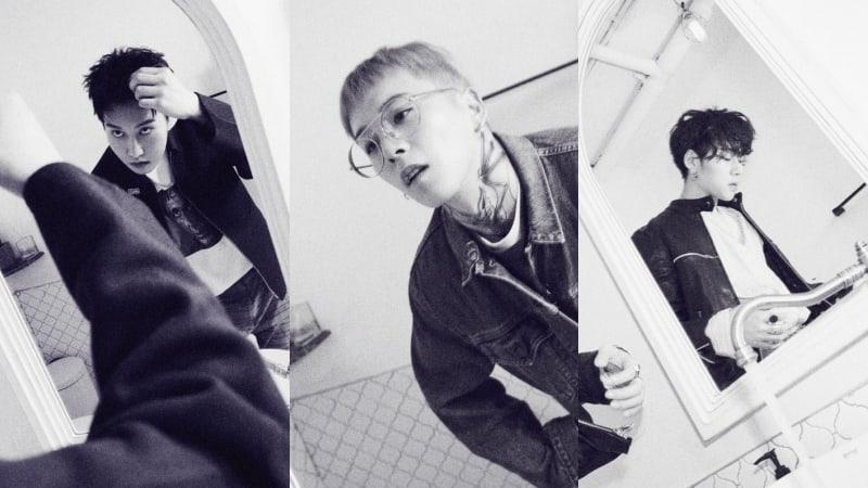 """[Actualizado] Block B publica fotos oficiales de B-Bomb, Zico y Taeil para su regreso con """"Montage"""""""