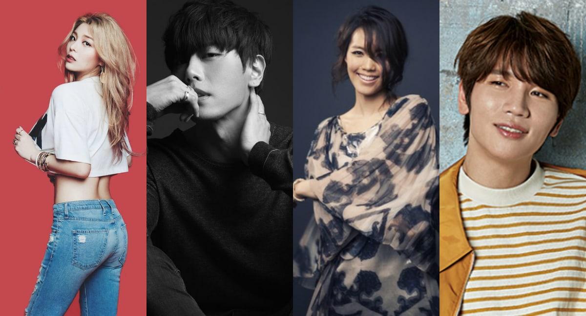 10 solistas coreanos que pueden deslumbrarte con sus poderosas voces