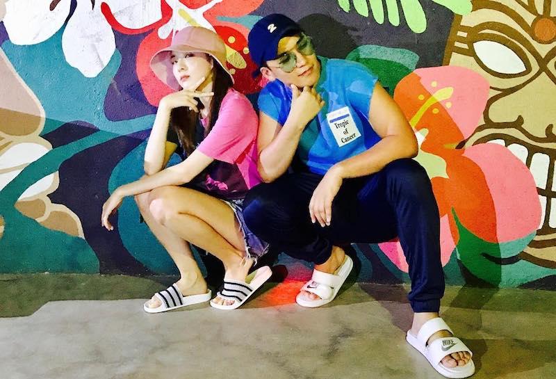 Seungri de BIGBANG comparte fotos con Sandara Park de sus viajes por las Filipinas