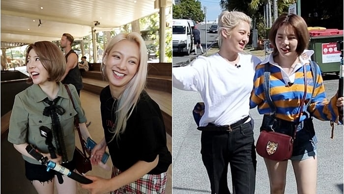 Sunny y Hyoyeon de Girls' Generation comparten fotos de un divertido viaje a Brisbane