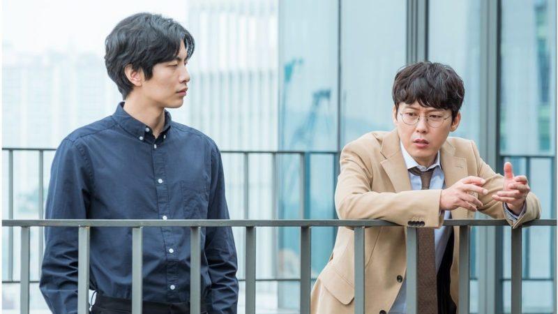 """Lee Min Ki y Park Byung Eun tienen una relación jefe-empleado única en fotos para """"Because This Is My First Life"""""""