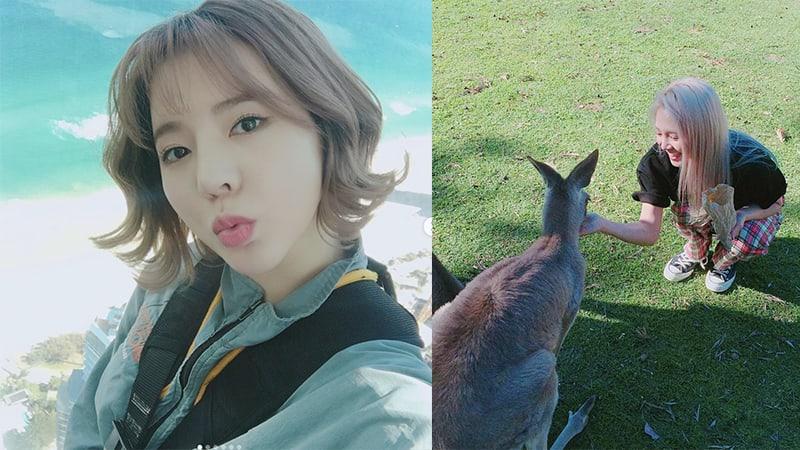 Sunny y Hyoyeon de Girls' Generation comparten divertidas fotos de su viaje a Brisbane