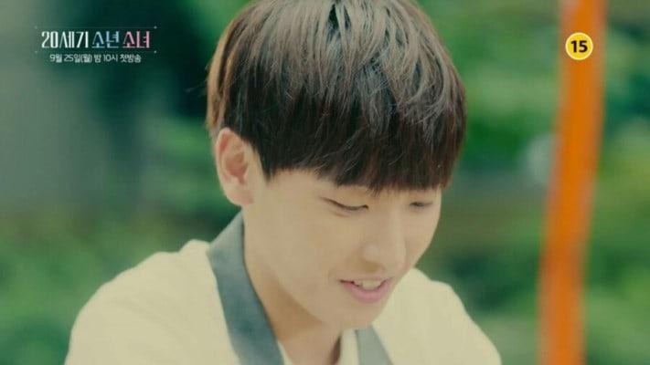 """""""20th Century Boy And Girl"""" revela nuevas imágenes de Inseong de SF9 como un estudiante de secundaria"""