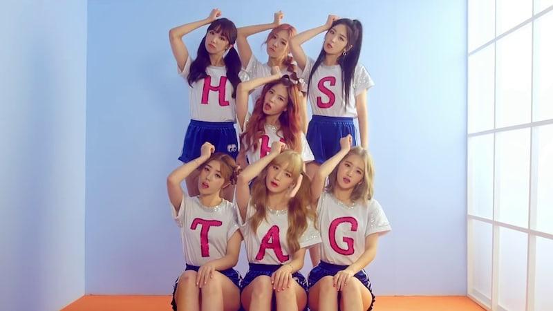 """El grupo femenino Hash Tag realiza encantador debut con vídeo musical para """"Hue"""""""