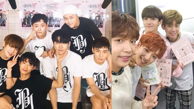 """JBJ, Samuel, Jeong Sewoon y MXM se reúnen para """"Weekly Idol"""""""