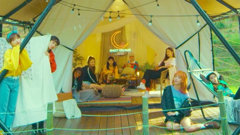 "DIA lanza el MV de ""Good Night"", pista de su álbum repackaged"