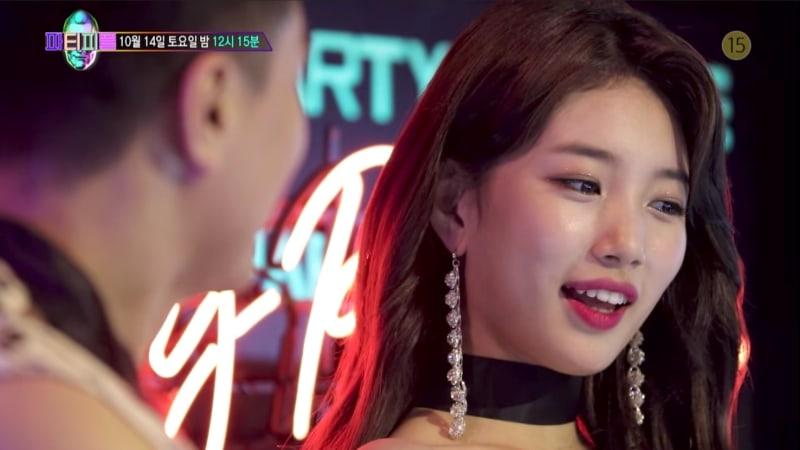 """Suzy canta, baila y habla sobre la felicidad en el teaser de """"JYP's Party People"""""""