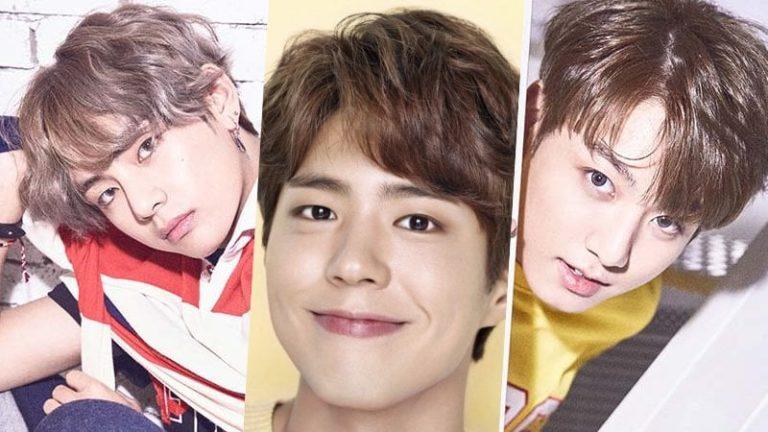 V de BTS elige entre Park Bo Gum y Jungkook
