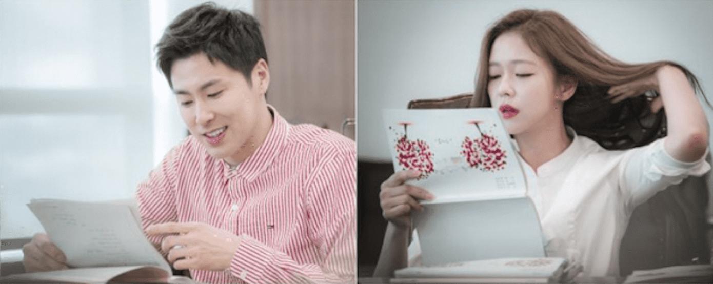 """Yunho de TVXQ y Kyung Soo Jin se reúnen con el elenco de """"Melo Holic"""" para primera lectura de guión"""