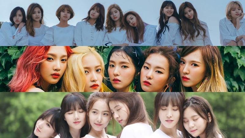 Se revela el ranking de reputación de marca de grupos de chicas para el mes de octubre