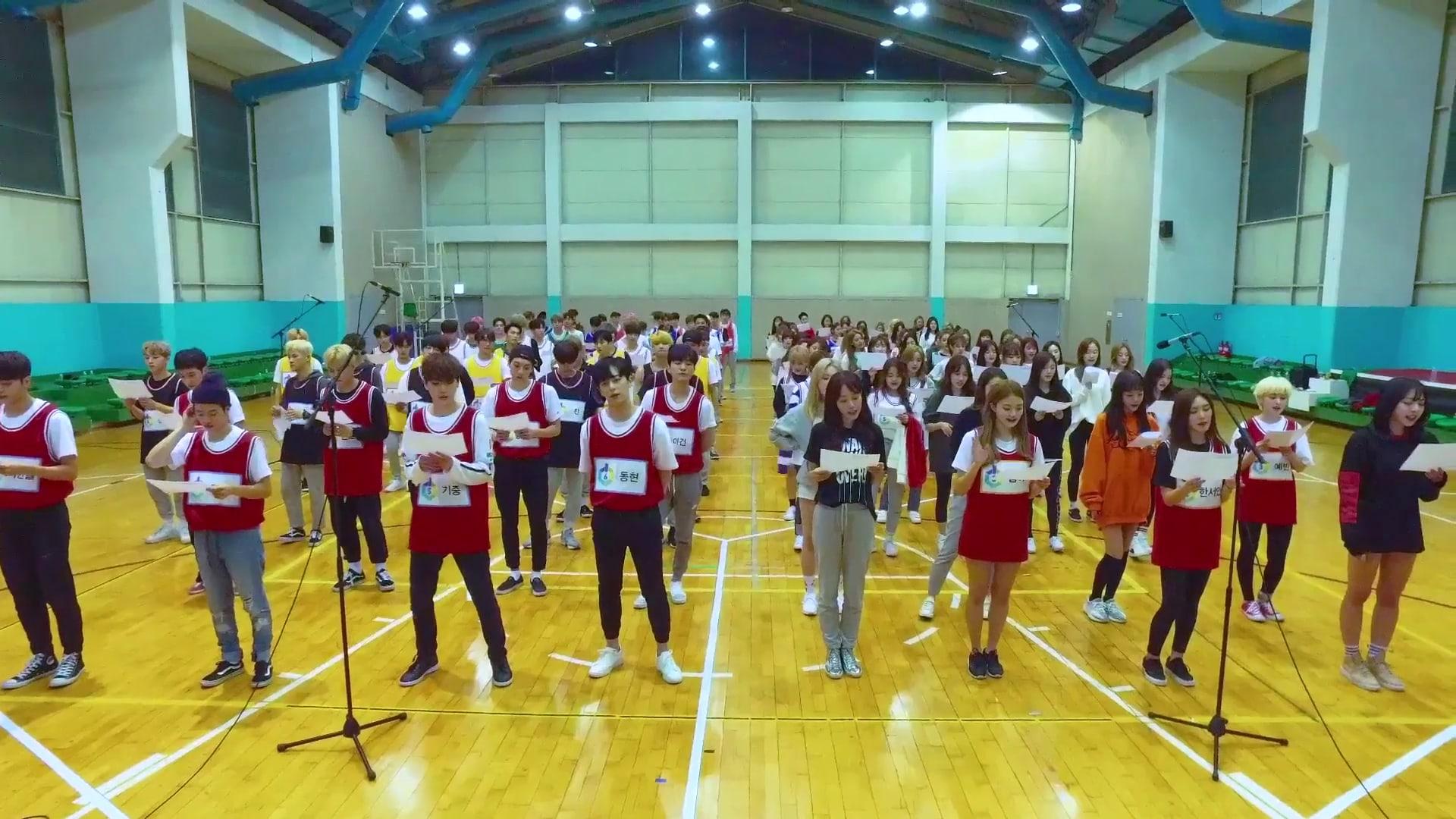 """El programa de reinicio de idols, """"The Unit"""", desvela el detrás de las escenas del MV de """"My Turn"""""""