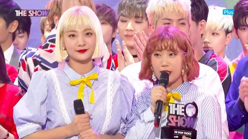 """Bolbbalgan4 obtiene el primer lugar por primera vez en un programa musical con """"Some"""" en """"The Show"""", presentaciones de APRIL, RAINZ, entre otros"""