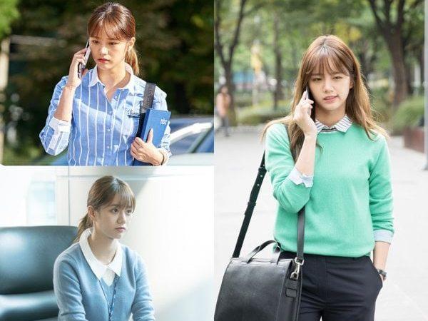 Hyeri muestra lo que ha aprendido sobre ser una reportera en fotografías para nuevo drama