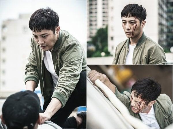 Jin Goo lucha ferozmente contra un criminal en nuevas imágenes de su próximo drama de acción