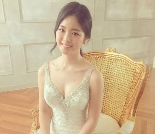 La actriz Han Ji Woo se casará el próximo mes