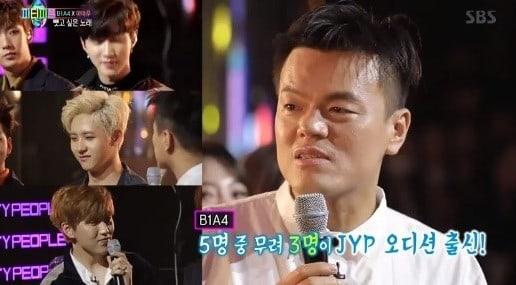Integrantes de B1A4 le revelan a Park Jin Young que ellos audicionaron para JYP Entertainment en el pasado