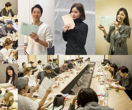 Kim Rae Won, Shin Se Kyung y Seo Ji Hye se unen para la 1ª lectura de guión de su nuevo drama