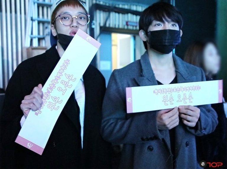 """Niel y Ricky de Teen Top visitan """"M!Countdown"""" para mostrar su apoyo a Chunji"""